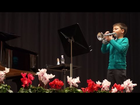 10 Year Old Trumpet Kid, The Musketeer