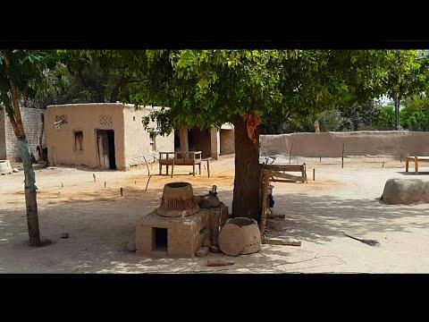 Village Life Of Punjab In Pakistan   Mud Houses & Natural Scenes