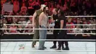 WWE RAW: The Shield's first face-off with The Wyatt Family