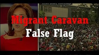 The Migrant Caravan is a FALSE FLAG WARNING for a real ALIEN INVASION SOON!