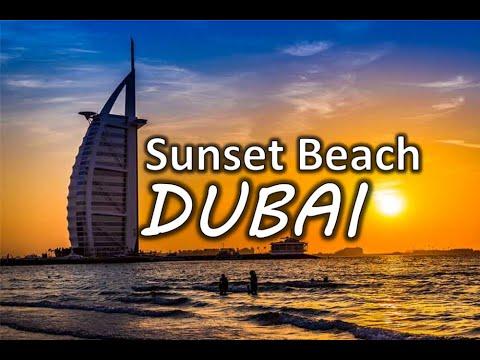 Dubai, Sunset Beach near Burj Al Arab