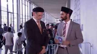 Interview with Ameer Sahib Germany - Jalsa Salana Germany 2015