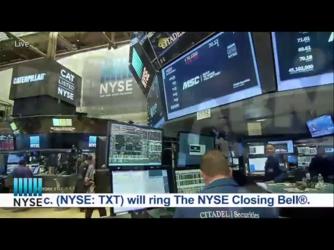 Companies from the NYSE Industrials Sector Ring The NYSE Closing Bell®