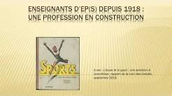 Doriane Gomet - Les pratiques des enseignant(s) d'EPS depuis 1918 - Conférence agrégation externe