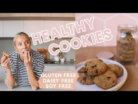 BEST Choc Chip Cookies! Easy & Healthy Sezzy Recipe | GF, DF, Soy Free, Cane Sugar Free