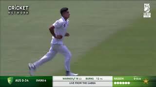 Naseem Shah good bowler and good Bonza