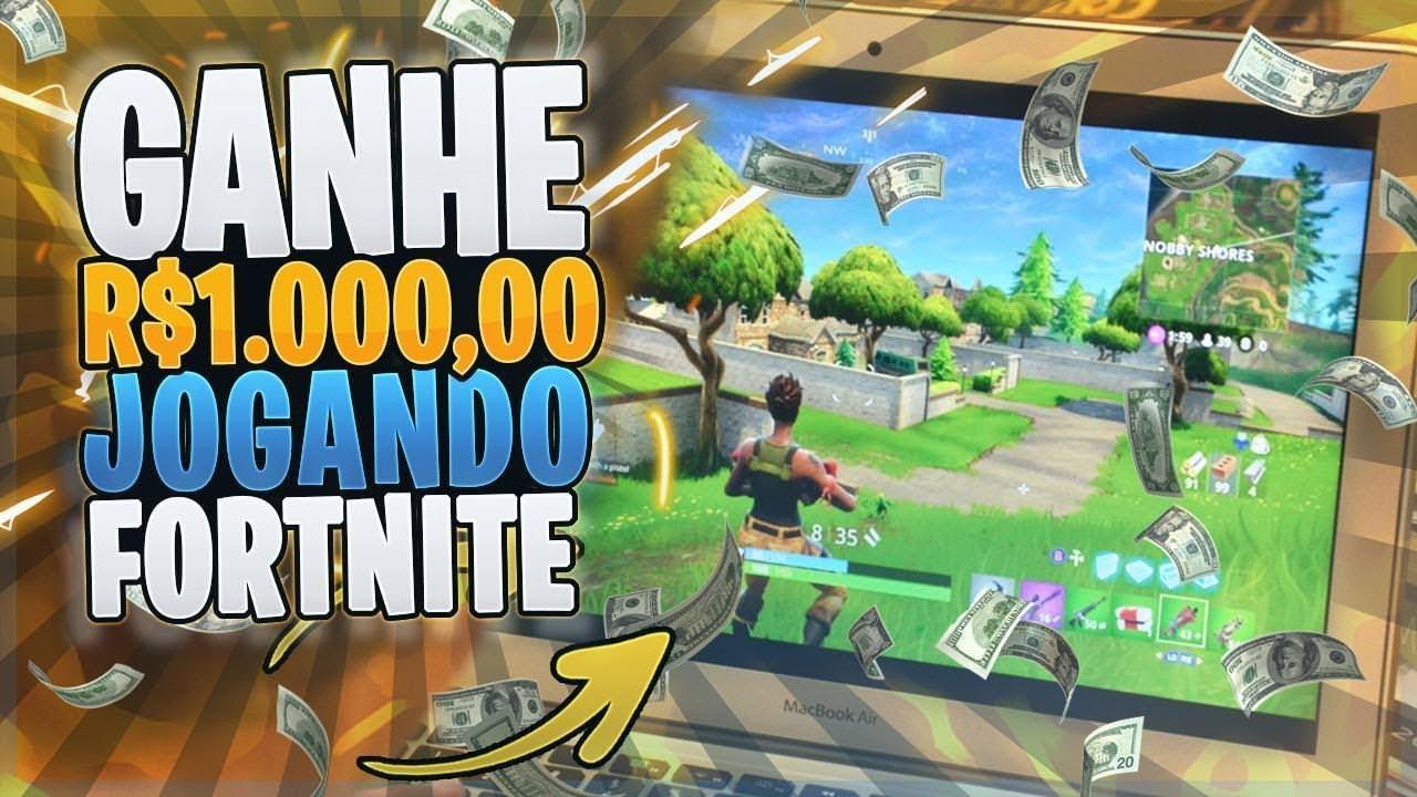ganhe dinheiro jogando fortnite nao e clickbait vinok4 - como ganhar dinheiro no fortnite