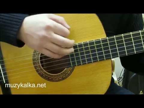Как играть шестерку на гитаре