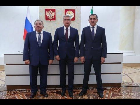 Представление временно исполняющего обязанности Главы Республики Ингушетия Махмуда-Али Калиматова