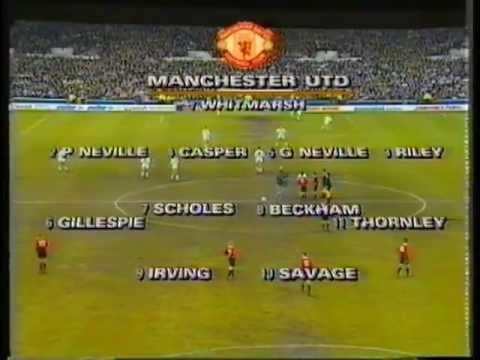 Footage Beckham vs Leeds utd/Fa cup Youth Final 1993