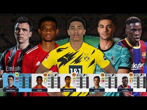 hack chỉ số cầu thủ dream league soccer 2016 - Các cầu thủ MỚI ĐƯỢC THÊM trong Dream League Soccer 2021
