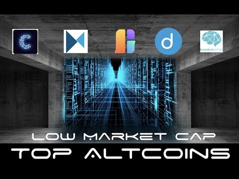 Cryptocurrency With Low Market Cap and Room To Grow
