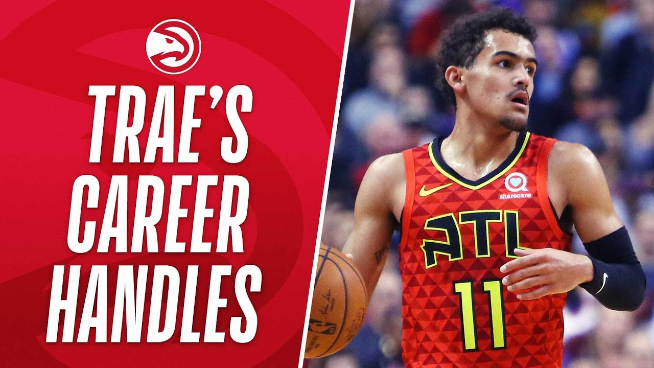 """""""Young Goes To His Bag Of Tricks"""" Trae Young's BEST Handles In His Career So Far!"""