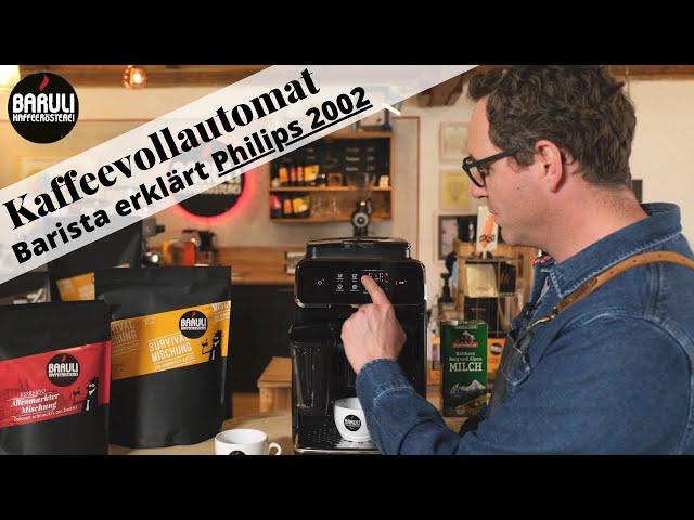 Mr. Baruli testet Kaffeevollautomaten - Philips 2200