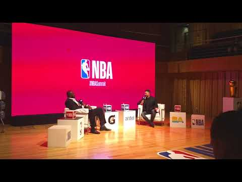 Charla NBA Horace Grant en Argentina 2017