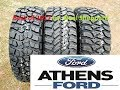 Best Hybrid, Mud & All Terrain Tires Part 2- Athens Ford BF Goodrich Nitto