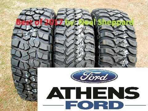Best Hybrid Mud All Terrain Tires Part 2 Athens Ford Bf Goodrich Nitto