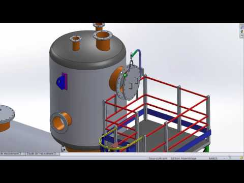 Appareil à pression ( SolidWorks )