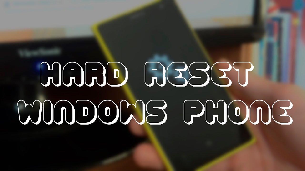 Как сделать сброс телефона lumia фото 182
