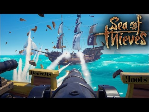 [ENG] Live From The OutHouse! | Sea of Thieves.  Get your Arrrr in here!