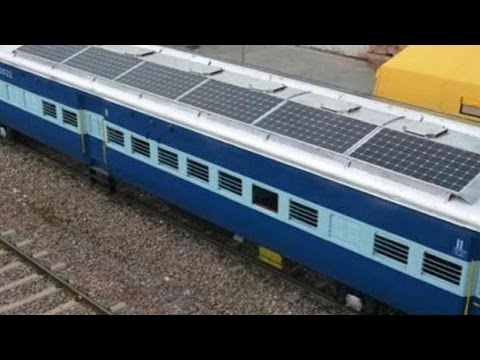 India's first solar train ready for trial in Jodhpur | वनइंडिया हिन्दी