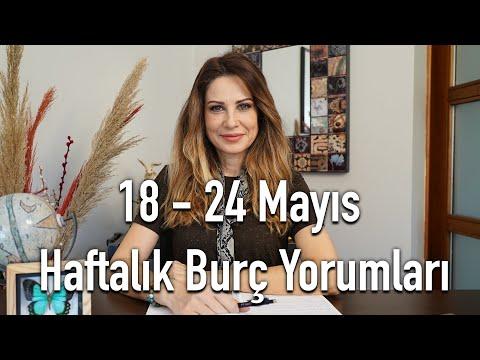 18 - 24 Mayıs Haftalık Burç Yorumları - Hande Kazanova ile Astroloji