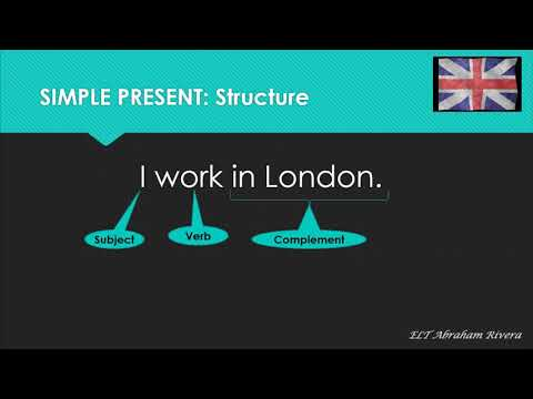 English for Everyone, Simple Present Tense