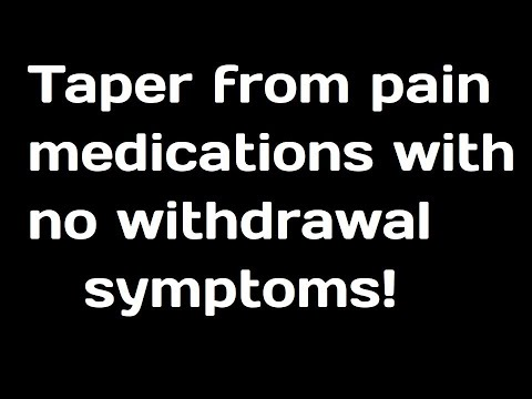 7-10 Day Opioid Taper W/ Zero Withdrawal EFX!