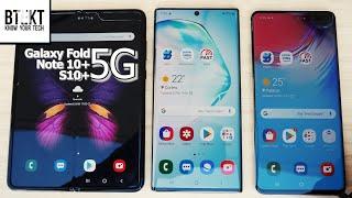 Samsung Galaxy Fold 5G, Note 10+ 5G, S10 5G | Flagship 5G Roaming at Real Madrid