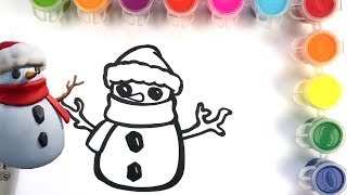 COMMENT DESSINER SNOWMAN SKIN-FORTNITE