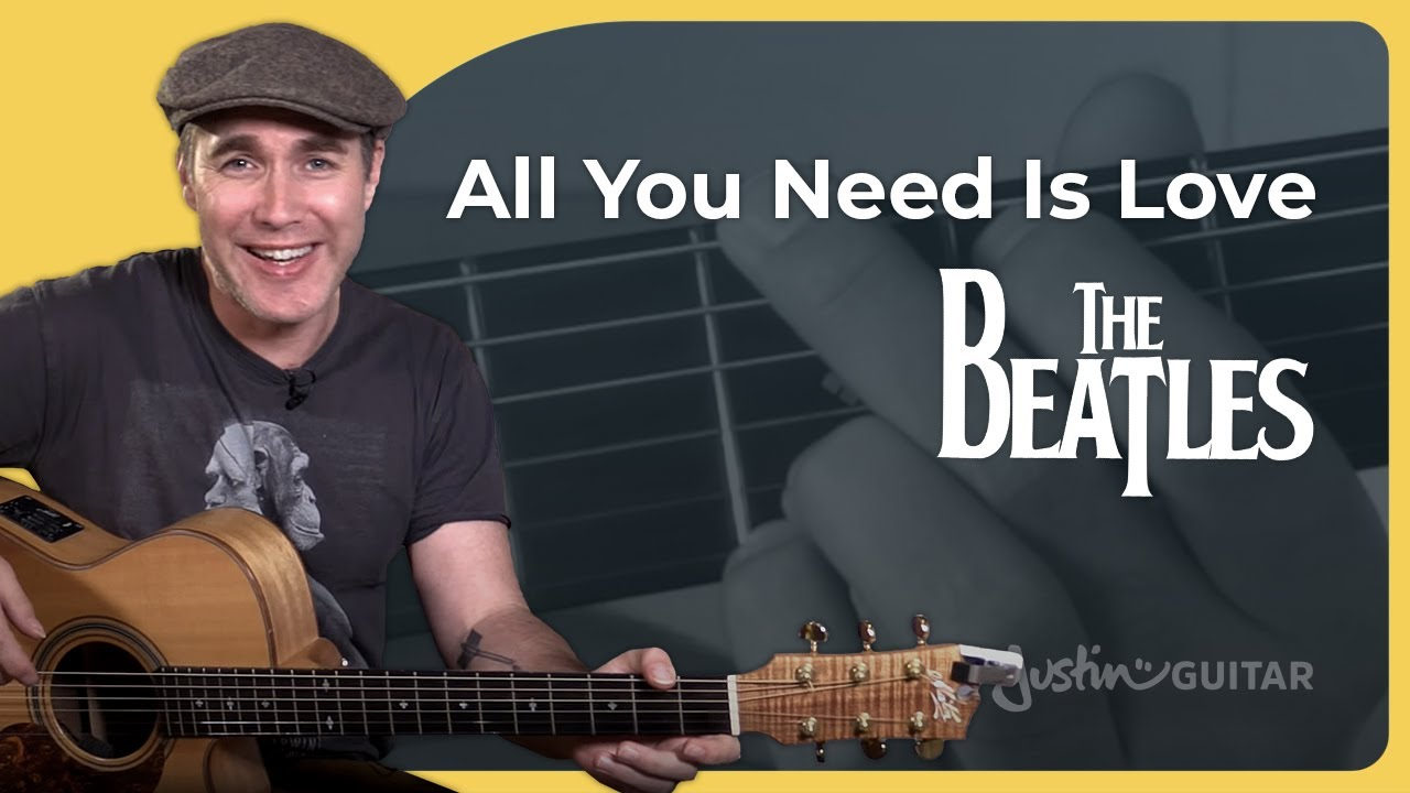 All You Need Is Love Guitar Lesson   The Beatles