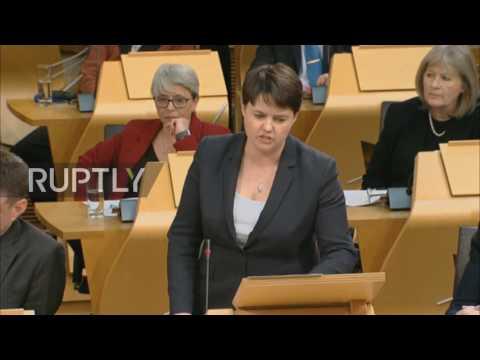 UK: Sturgeon opens debate on second independence referendum at Scottish Parliament