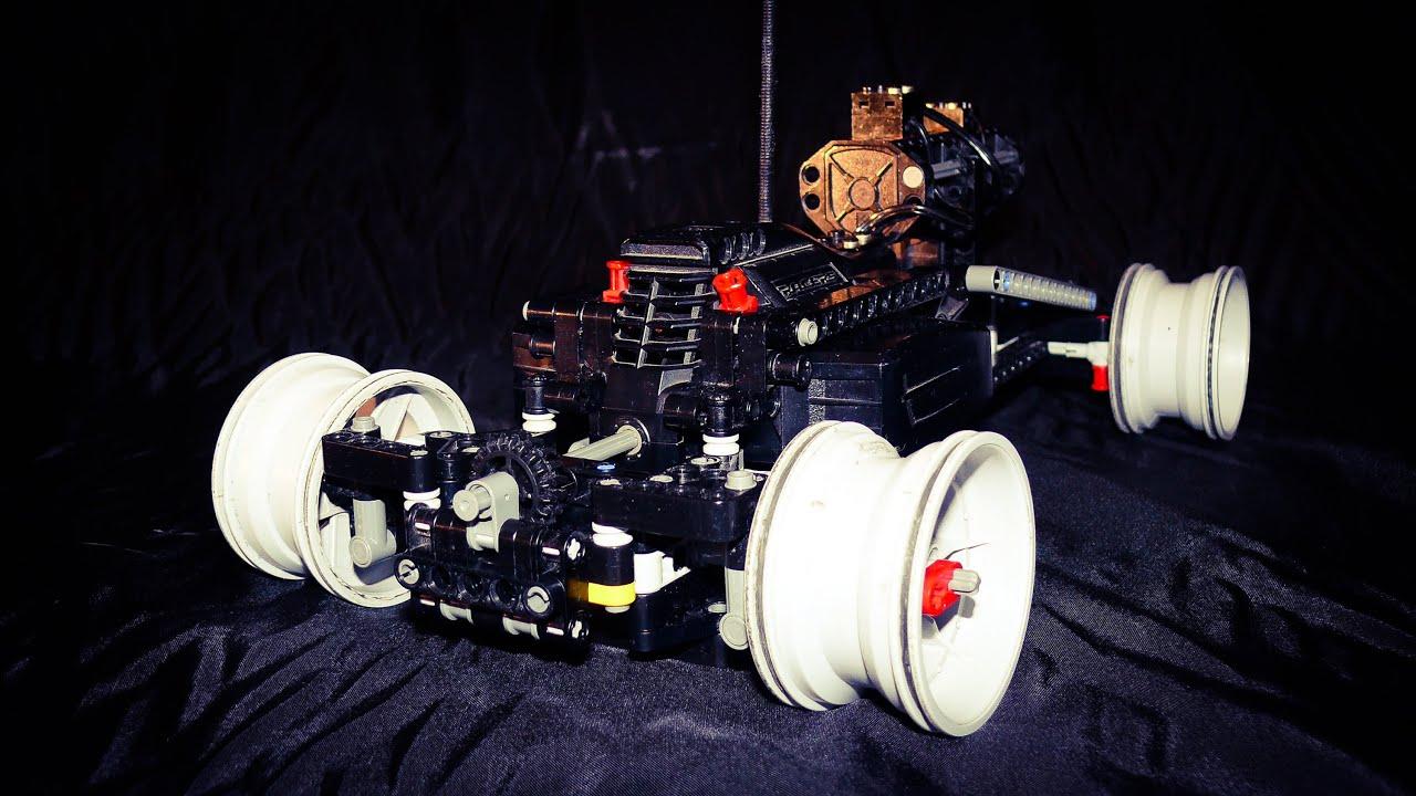 Lego Technic Rc Drift Car Youtube
