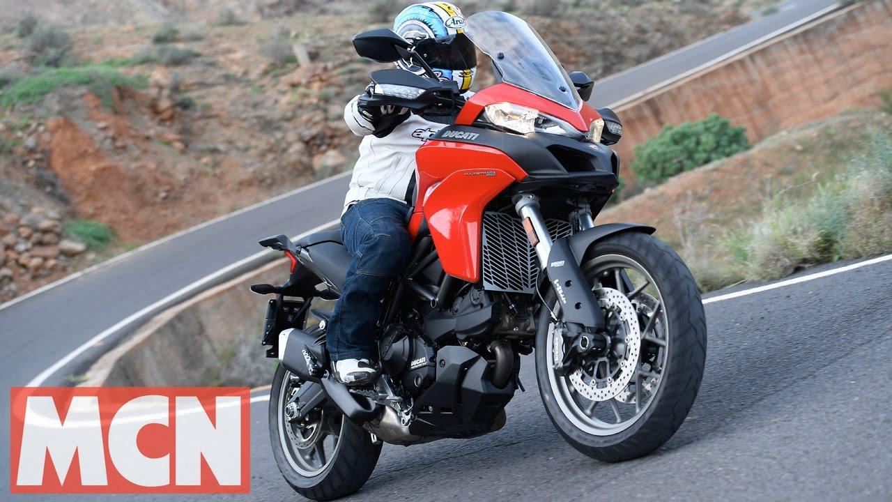 2017 ducati multistrada 950 | first ride | motorcyclenews