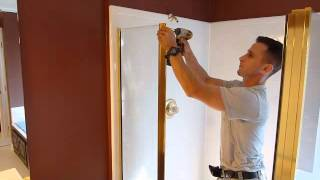 How To Remove, Install Shower Door -uninstall Demo Framed Enclosures Without Braking Glass Frameless