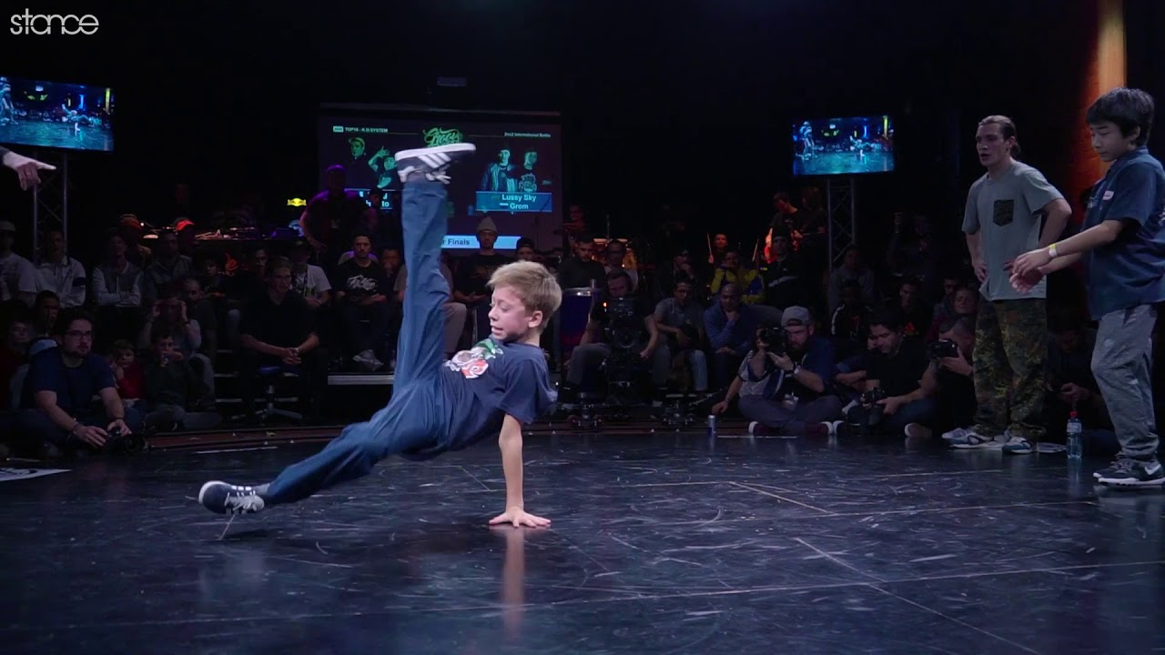 12 year old bboy Grom at Groove Session 2017 ► .stance
