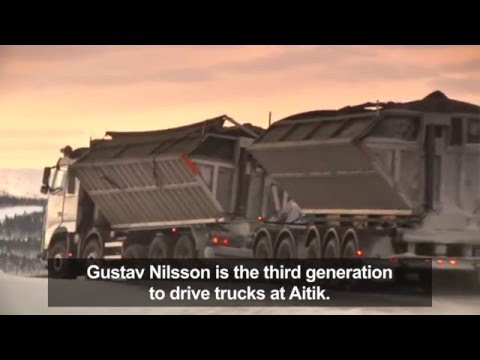 Volvo Trucks - Goliat, a Volvo FH16 that transports 500 tonnes of copper ore every day
