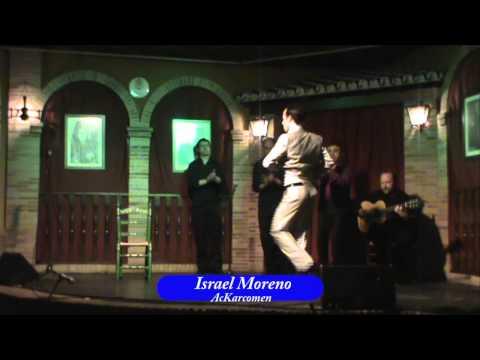 Israel Moreno: Baile por Alegrias:  Semifinal XI Concurso de Jovenes Flamencos