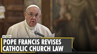 Pope Francis revises Catнolic church law, expands rules on sexual abuse   Vatican City   World News