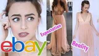One of Sophie Foster's most viewed videos: Trying On Prom Dresses I Bought From Ebay! | Sophie Foster