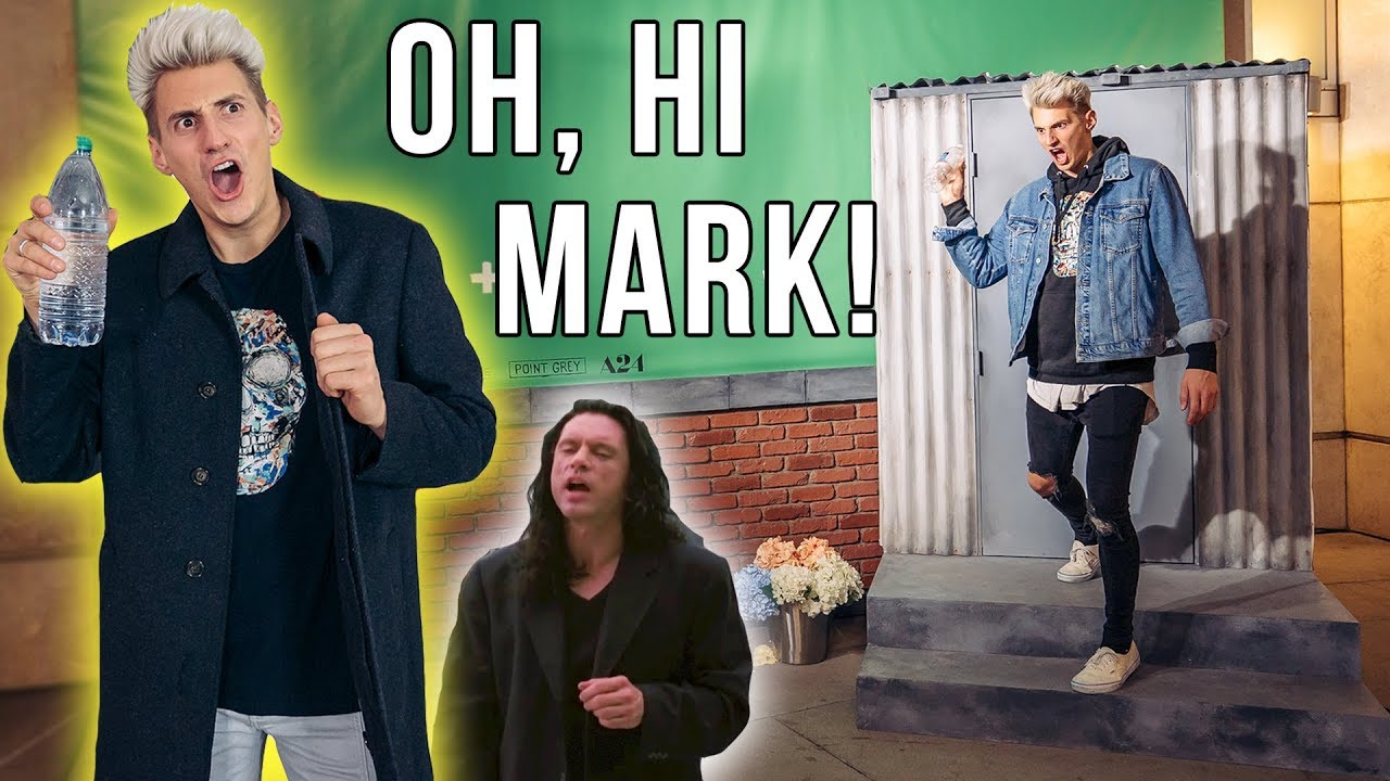 MARK RECREATES OH HI MARK MOVIE SCENE The Disaster Artist