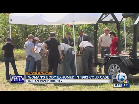 Body exhumed in Indian River County