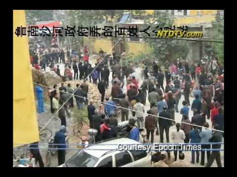 Dân trong làng bị đánh tại Trung Quốc