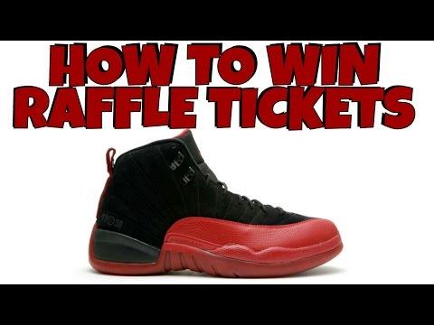 How To Win Raffle Tickets & Double Up On Jordans | Flu Game Jordan 12 Raffle Ticket VLog |