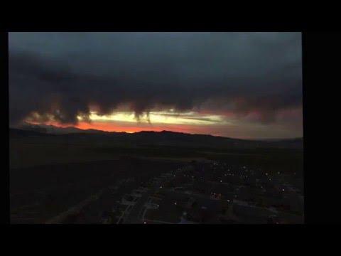 Saratoga Springs Utah Time Lapse