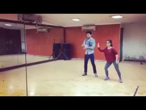 Raghav  juyal  dance practice in mumbai