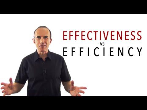 Download Effectiveness vs Efficiency