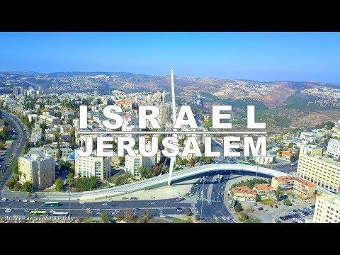 Jerusalem - The Capital Of Israel Aerial Drone Video | ירושלים מהרחפן
