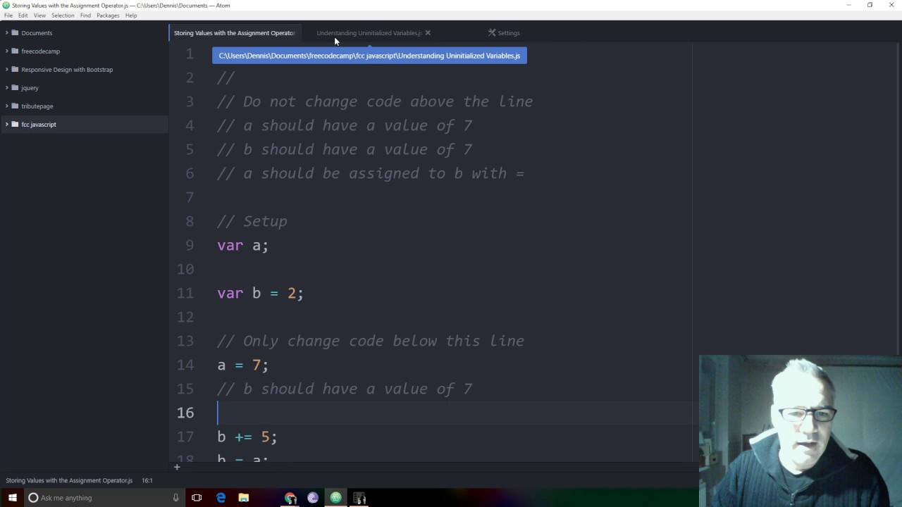 atom text editor with multi-cursor is VERY cool Jan 21, 2017