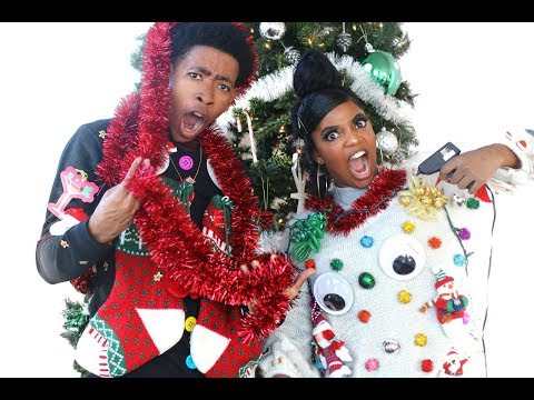 Download Youtube: HILARIOUS BF VS. GF UGLY CHRISTMAS SWEATER CHALLENGE!!!
